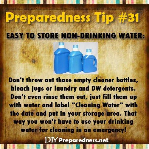 sc 1 st  DIY Preparedness & Water Storage: How Much to Store and How to Purify | DIY Preparedness